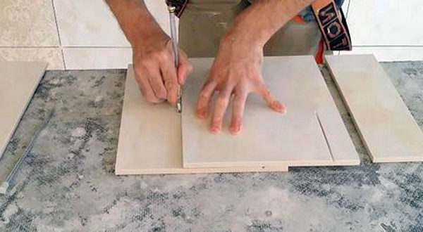 Бытовое использование керамической плитки