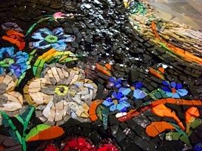 Изготовление мозаичного панно