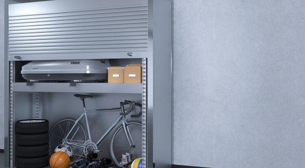 Роллетный шкаф для паркинга